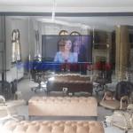 Duvar Üstü Baklava Ayna