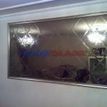 Duvara Baklava Ayna Kaplama